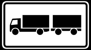 камион с ремарке
